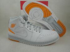 Nike Air Jordan 1 Retro 86, White / Kumquat, 644490 115, Size 12