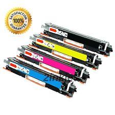 4pk Compatible CF350A CF351A CF352A CF353A Toner Set For LaserJet MFP M176n M177