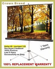CROWN BRAND (6x4) IMPORTED TRIPOD PROJECTOR SCREEN