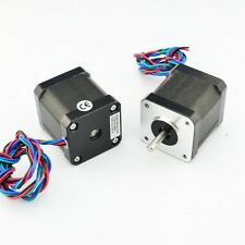 NEMA17 Single Shaft 1.6A/59oz-in 0.9deg Bipolar Stepper Motor   ( 17HM19 )