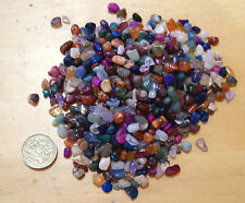 3mm to 5mm ASSORTED TINY POLISHED TUMBLESTONE GEM CHIP CRYSTALS 100 grams
