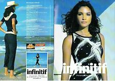 PUBLICITE ADVERTISING 116  2004   Infinitif  mode pret à porter ( 8 Modèles)