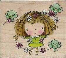 """Flowers For Mimi"" Rubber Stamp by Penny Black"