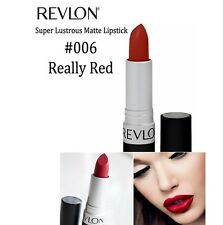 Revlon Super Lustrous Matte Lipstick #006 Really Red 4.2 g 1 Piece