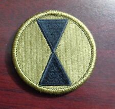 U.S. ARMY PATCH, SSI, SCORPION,MULTICAM, 7TH INFANTRY DIVISION,WITH VELCR