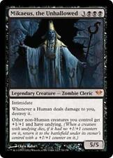 MIKAEUS, THE UNHALLOWED Dark Ascension MTG Black Creature—Zombie Cleric MYTHIC
