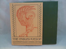 Fables of Aesop Folio Society 2003 Hardcover Slipcase Illustrated by Detmold
