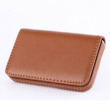 Mini Luxury PU Leather Business Name Card Holder ID Case Bag Wallet