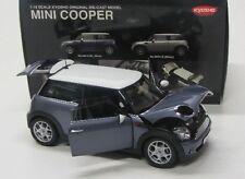 Mini Cooper / R56 ( 2006-2012 ) blau grau / Kyosho 1:18