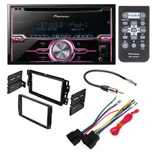 CAR STEREO DASH INSTALLATION  KIT W/ WIRING HARNESS ANTENNA SELECT GM VEHICLES