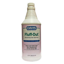 Davis Fluff-Out Show Coat Finish for Cats and Dogs 32 oz. 946ml