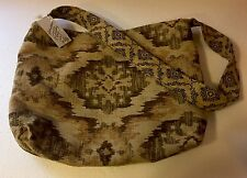 Large Bohemian Recycled Fabric Tote Shoulder Bag By Second Chances NWT Handmade