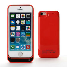 4200mAh Portable External Power Pack Battery Charger Case Cover For iPhone 5 5S