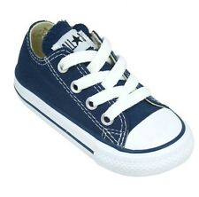 Converse Infants Navy Lace All Star Classic Sneakers Infant/Toddlers Size 9