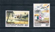 Cocos (Keeling) Is 1979 Christmas SG 48/9 MNH