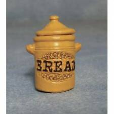 Bread Crock, Miniature Dolls House, 1.12 Scale Kitchen Accessory