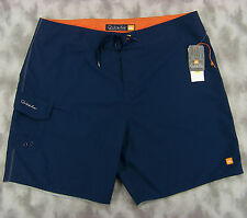 NEW Quiksilver Mens Waterman Collection Board Shorts Size 38 (38x7.5) Navy Poly