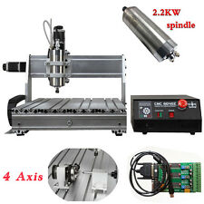 USB CNC ROUTER ENGRAVER ENGRAVING 6040 DESKTOP 4 AXIS DRILLING MILLING MACHINE