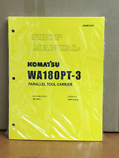 Komatsu WA180PT-3 Parallel Tool Carrier Wheel Loader Shop Service Repair Manual