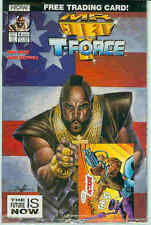 Mr. T and the T-Force # 4 (Norm Breyfogle, comic trading card) (USA, 1993)