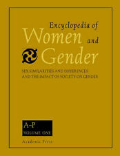Encyclopedia of Women and Gender: v. 1-2: Sex Similarities and Differences and