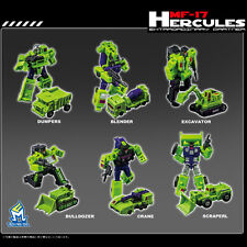 Transformers Mech Fans Toys  MF-17 Extraordinary Partner Hercules,In Stock!