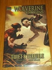 WOLVERINE ORIGINS SWIFT & TERRIBLE VOL 3 MARVEL PREMIERE HARDBACK 9780785126379