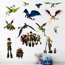How To Train Your Dragon Kids Baby Nursery Home Decor Mural Wall Sticker Decal