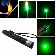 Adjustable Focus Military Green Laser Pointer Pen 4mw 532nm Zoomable Burning 301