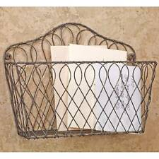 Wall Mount Wire Basket