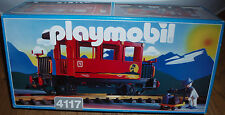 PLAYMOBIL G 1995 (LGB scale) red Passenger Coach 1st Class Car 4117 NEW Retired