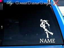 Roller Derby PERSONALIZE Vinyl Decal Sticker -Color- HIGH QUALITY