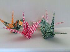 Assorted Handmade Origami Crane