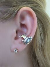 BAT EAR CUFF - Hand Crafted Sterling Silver Jewelry by Marty Magic w/gift box