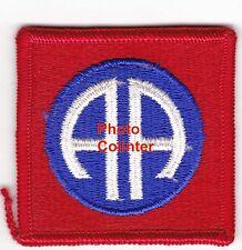 82nd Airborne Division - écusson mle 1966 en couleurs- US Army   ( ref. ZA8 )