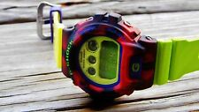 CASIO G-Shock DW-6900CC/JC-Red/Green/Yellow/Purple-rare-pepe-kermit-ZEF-MACFLY