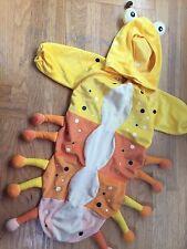 Rubies CATERPILLAR Baby Velour Bunting Halloween Costume TOMATO WORM 0 3 6 9 mo