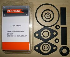 Ducati 250 350 450 single 14 piece engine seal kit Made In Italy