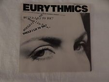 "Eurythmics ""Would I Lie To You"" PICTURE SLEEVE! MINT! ONLY NEW COPY ON eBAY!"