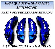 NEW BIG DARK BLUE BREMBO LOOK BRAKE CALIPER COVER FRONT/REAR 4 PCS