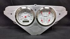 1955 1956 1957 1958 1959 CHEVY TRUCK BRUSHED GAUGE CLUSTER WHITE METRIC