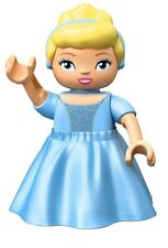 LEGO - Duplo Figure - Disney - Cinderella w/ Cloth Dress (Lego Ville Figure)