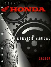 Manuale Officina Service Manual Honda CR 250 1997 1999 [ENG]