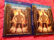 ZOOKEEPER BLU-RAY + DVD 2011 COMEDY ANIMAL MOVIE KEVIN JAMES