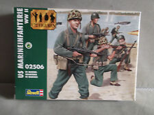 1:72 SCALE, REVELL, U.S. MARINES, (ww2) 50 UNPAINTED FIGURES
