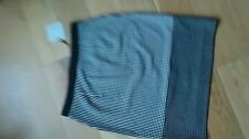 Great Plains B&W knee length Polka Pencil Skirt size 10 NEW / matching top avail