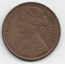 Extremely Rare 1869 Victoria Penny 1d - Very nice grade