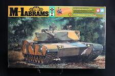 XE042 TAMIYA1/35 maquette char 30254 52 US M-1 Abrams main battle tank motorisé