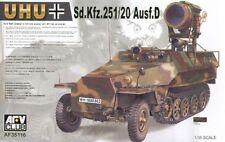 1/35 AFV Club Sd.Kfz. 251/20 Ausf.D UHU #35116