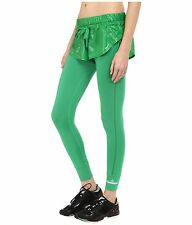 adidas by Stella McCartney Women's Shorts Over Tights~2-in-1~Green~AI8760~Sz L